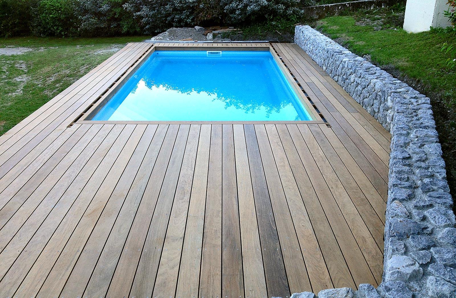 Création de terrasses en bois ou composite dans le Vercors